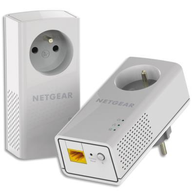 Boitier CPL 1000Mbit/s PLP1000-100FRS Neatgear - pack de 2 (photo)