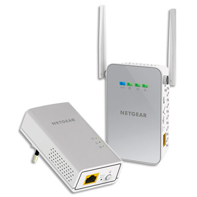 Boitiers CPL spécial WiFi Netgear - 1000Mbit/s (photo)