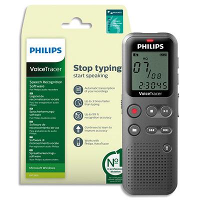 Enregistreur numérique Voice Tracer DVT1110+DVT2805 DVT1115/00 Philips (photo)