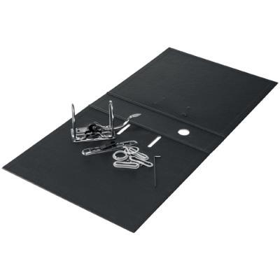 Classeur à levier Recycle Leitz - carton - dos 5 cm - mécanisme 180 ° - 100% recyclable - noir