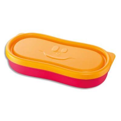 Boîte à encas Maped - 150 ml - concept enfants - en PP - étanche - rose - lot de 2