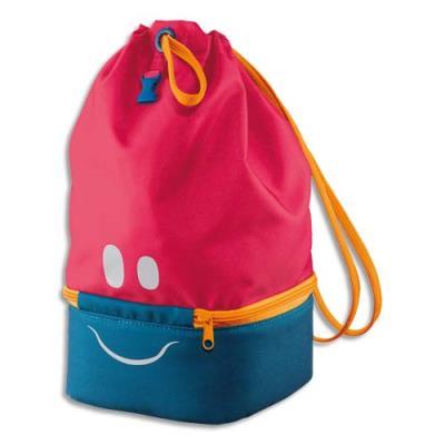 Sac à Déjeuner Maped - concept enfants - polyester - partie basse isotherme - yeux bouche réfléchissants - rose
