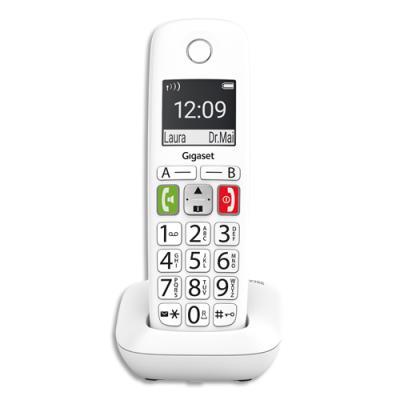 Téléphone sans fil Gigaset E290Solo - blanc