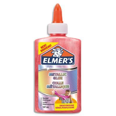 Colle à paillettes et métallique Elmers - rose
