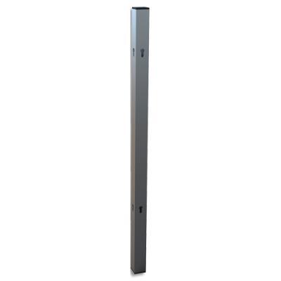 Potence pour relier les séparateurs de bureau modulaire Nobo - film en PVC - L4 x H86 x P4 cm