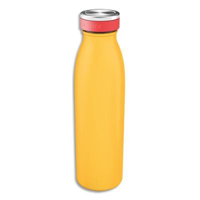 Bouteille isotherme Leitz Cosy - boissons chaudes 7H et froides 15H - D6,8 x H23,5 cm - 500 ml - jaune