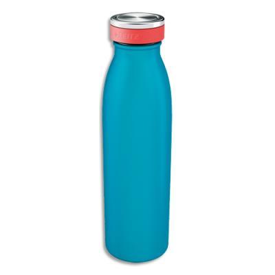 Bouteille isotherme Leitz Cosy - boissons chaudes 7H et froides 15H - D6,8 x H23,5 cm - 500 ml - bleu