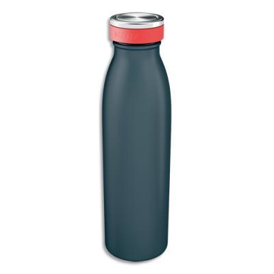 Bouteille isotherme Leitz Cosy - boissons chaudes 7H et froides 15H - D6,8 x H23,5 cm - 500 ml - gris foncé
