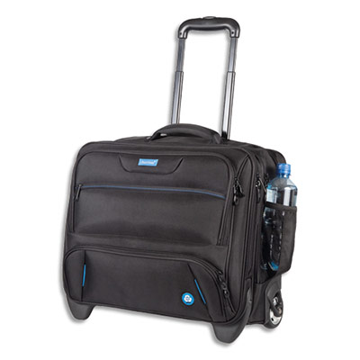 Trolley pour ordinateur portable Lightpak RPET 46215 - noir