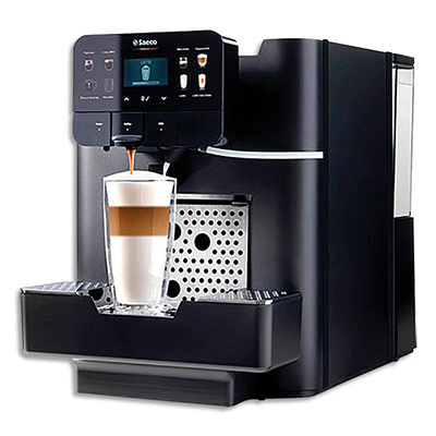 Machine à café Saeco Aréa Otc Hsc Nespresso - 1300W - capacité 4 litres - L28 x H38 x P48 cm - noir