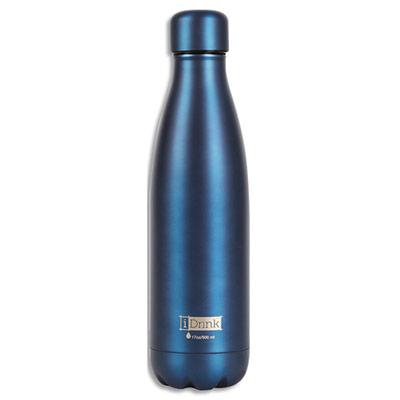 Bouteille thermique I-Drink - 500 ml - bleu mat