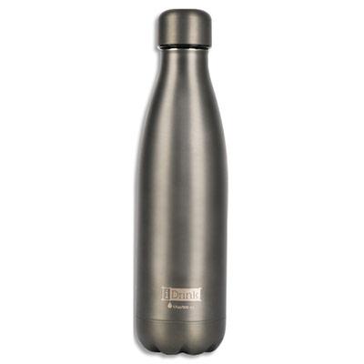 Bouteille thermique I-Drink - 500 ml - gris mat