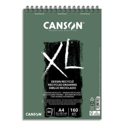 Album croquis XL Canson - recyclé - Format A4 - Réf : 777128 (photo)