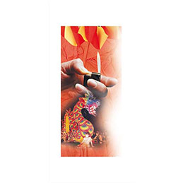 Paquet de 10 feuilles de crépon ingnifuge Clairefontaine 2x0,5m couleurs assorties