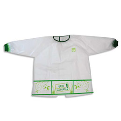 Tablier Safetool imperméable 3 poches pour enfant 4 à 6 ans en matière recyclée et biodégradable