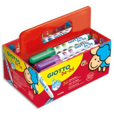 Feutres de coloriage + 3 tailles crayons - pack de 36 coloris assortis (photo)