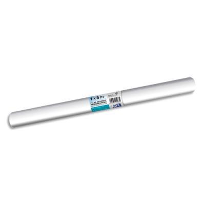 Rouleau couvre-livres adhésif - 1 x 5 m - incolore