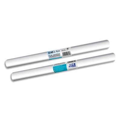 Rouleau couvre-livres adhésif - polypropylène prise différée - 0,45 x 1 m - incolore