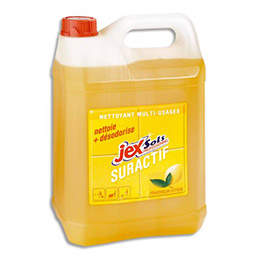Nettoyant multi-usages suractif Jex- parfum citron- bidon de 5L (photo)