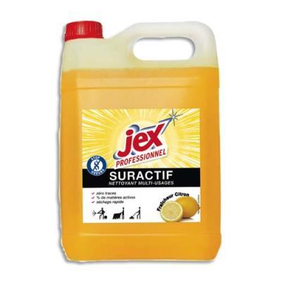 Nettoyant multi-usages suractif Jex- parfum citron-bidon de 5L (photo)