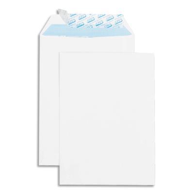 Boîte de 500 pochettes GPV - auto-adhésives - velin blanc - 90g - format 176x250 - B5 (photo)