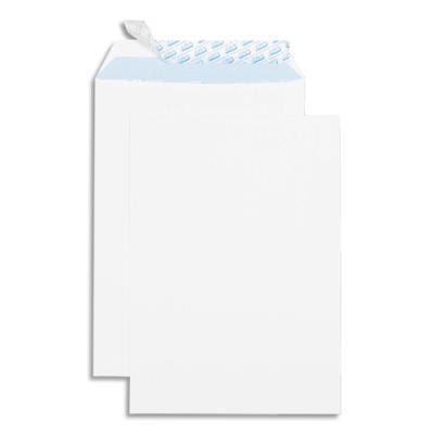 Pochettes 229x324 gpv auto adhésives vélin blanc 90g boîte de 250