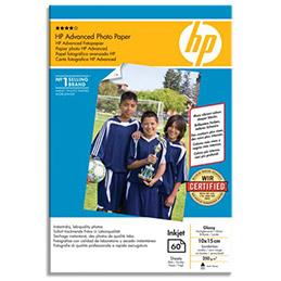 Papier photo brillant sans bord HP - 250 g - A6 - 25Q8691A (photo)
