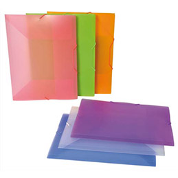 Chemise 3 rabats à élastiques Viquel Propysoft en polypro 5/10 - coloris assortis (photo)
