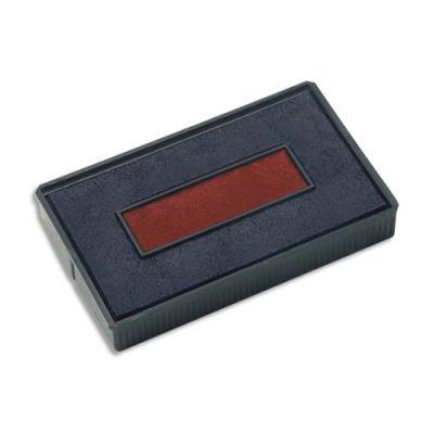 Recharge Colop préencrée E200/2 bleu/rouge pour Colop S200 - lot de 5
