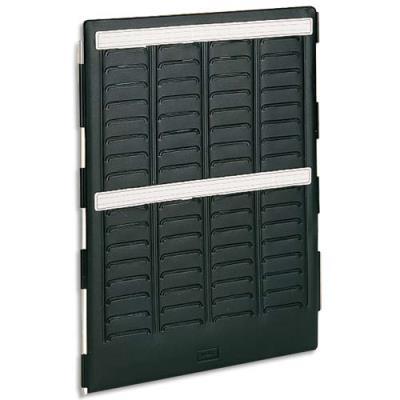 Volet intérieur Val-Rex Mini-Planner Nobo - 4 bandes de 17 fiches - indice 1.6 (photo)