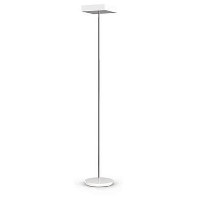 Lampadaire fluorescent Fluosquare - 3 x 23 W - blanc (photo)
