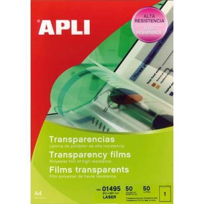Film transparent Agipa - pour imprimante laser couleur - boite de 50 (photo)