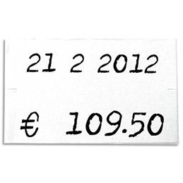 Rouleau de 1000 étiquettes 26 x 16 mm pour pinces 151992-101419 - pack de 6 (photo)