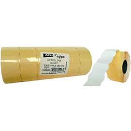 Rouleau de 1000 étiquettes sinusoïdales enlevables 26 x16 mm pour pinces 151992-101419 - pack 6 (photo)