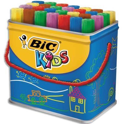 Boîte de feutres Décoralo couleurs assorties Ecole (photo)