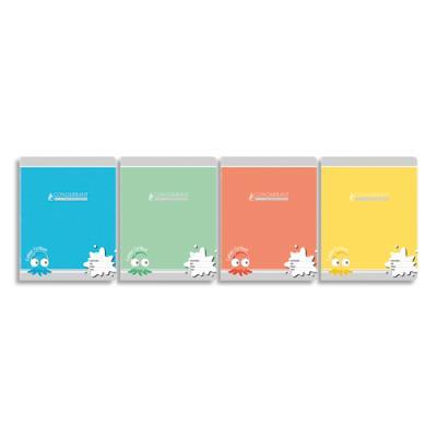Cahiers Conquérant - 17x22 cm - piqure 32 pages - grands carreaux