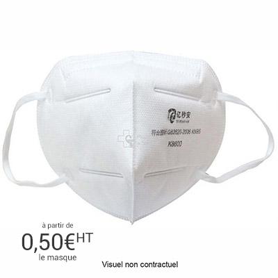 Masque de protection FFP2 - boîte de 10