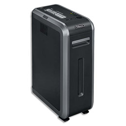 Destructeur de documents Fellowes 125Ci - usage intensif - coupe croisée (photo)