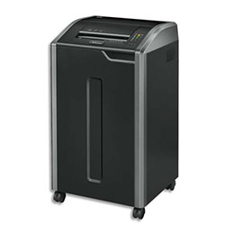 Destructeur de documents Fellowes 425Ci - usage intensif - coupe croisée (photo)