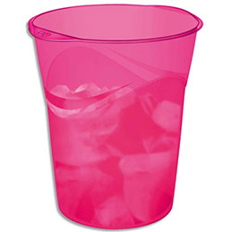 Corbeille à papier Cep Happy - coloris rose / indien (photo)