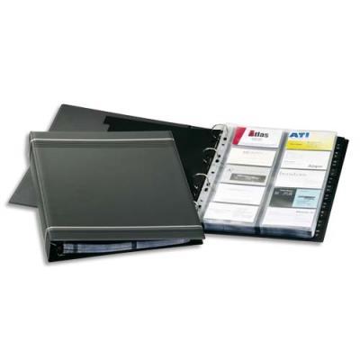 Reliure pour cartes de visite Durable Visifix A4 - L 25,5 x H 31,5 cm - 400 cartes