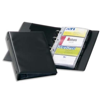 Reliure pour cartes de visite Durable Visifix Economy - L 14,5 x H 25,5 cm - 96 cartes