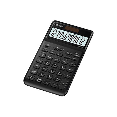 Calculatrice de bureau - JW-200SC-BK - noir (photo)