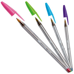 stylo bic pointe large