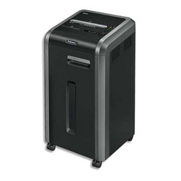 Destructeur de documents Fellowes 225Ci - usage intensif - coupe croisée (photo)