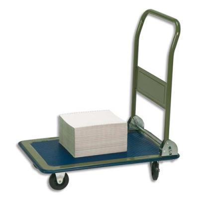chariot pliable conomique petit plateau charge maxi 150 kg achat pas cher. Black Bedroom Furniture Sets. Home Design Ideas
