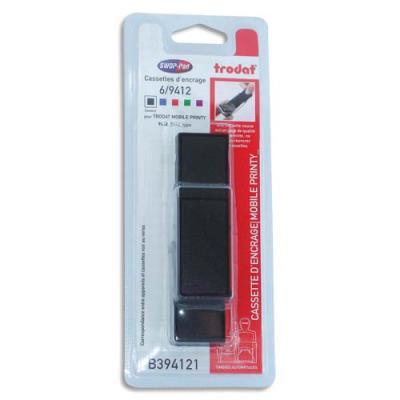 Blister de 3 recharges Trodat 6/9412 noires pour Mobile Printy 9412 (photo)