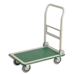 Chariot pliable Roulpratic - plateau standard - charge maxi 300 Kg (photo)