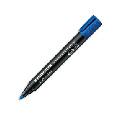 Marqueur Staedtler Lumocolor 352 - pointe ogive 2.0 mm - permanent bleu