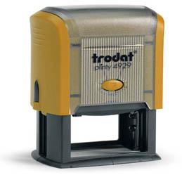 Tampon Trodat 4929 personnalisable - utilisation bureau - format 50X30 mm - mangue